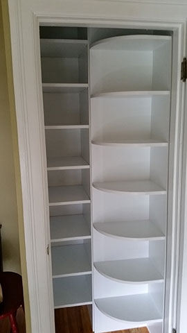 Custom Closets in small space