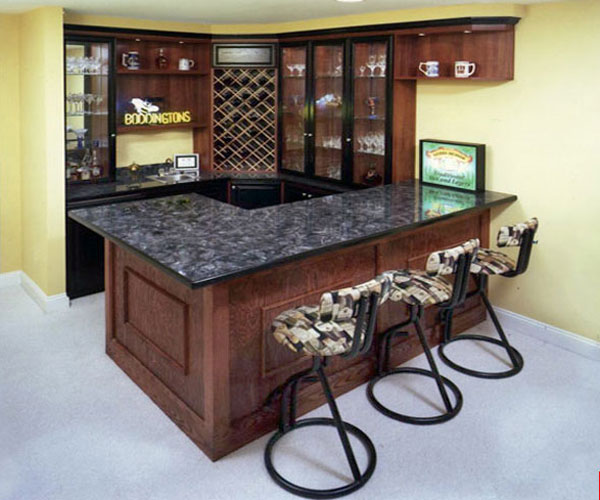 Mini Bar for House with wine racks