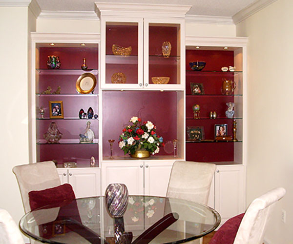 Display Showcases and display cabinets