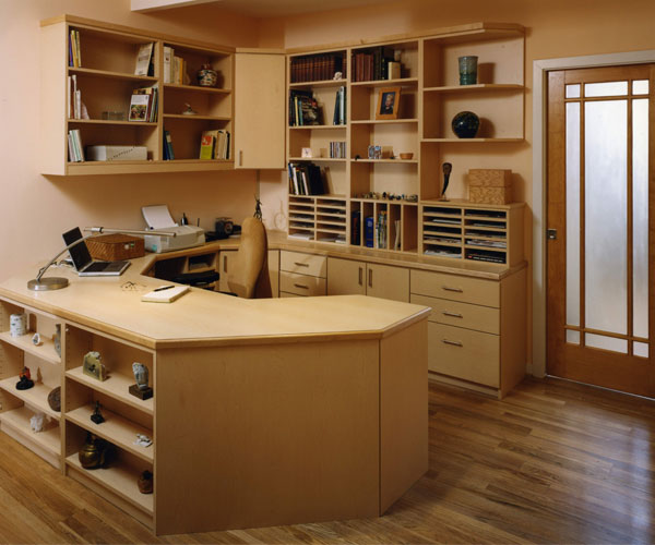 Wood Desks Home Office