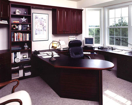 Home Office Md Custom Cabinets For Offices In Maryland