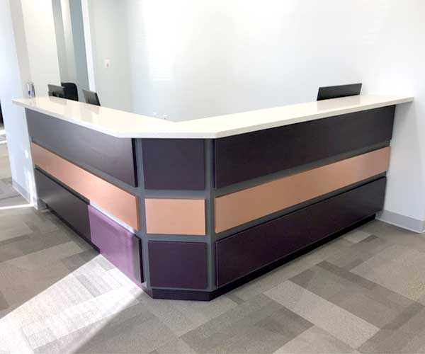 Receptionist Reception Front Desk And All Office Solutions